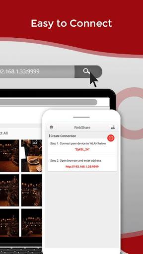 Zapya WebShare - File Sharing in Web Browser screenshot 2