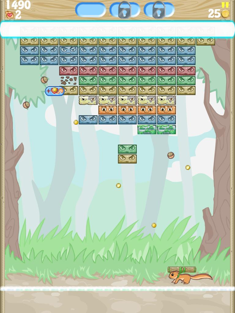 Furry Squash - Brick Breaker screenshot 8