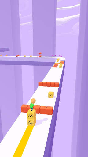 Cube Surfer! screenshot 2