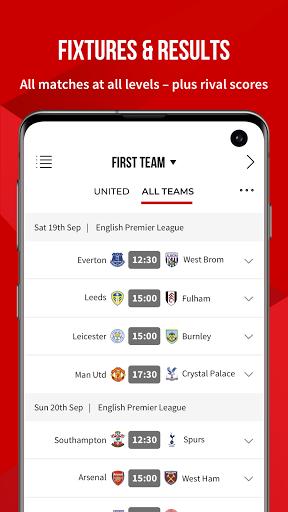 Manchester United Official App 6 تصوير الشاشة