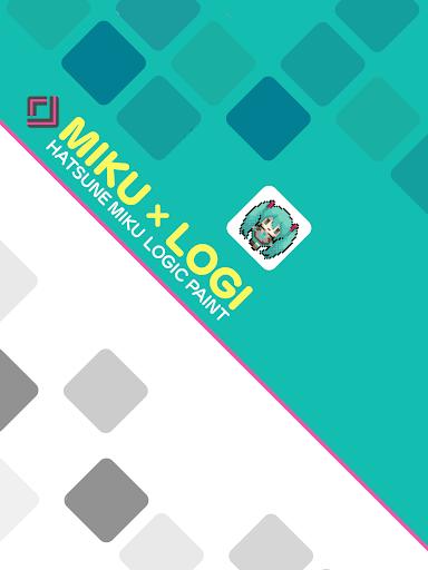 Hatsune Miku Logic Paint screenshot 5