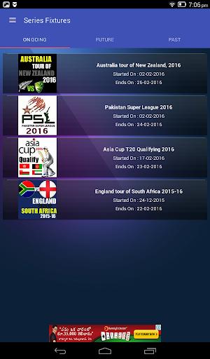 Live Cricket Scores & Updates -Total Cricinfo 17 تصوير الشاشة