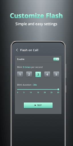 Flash on Call and SMS - Battery Manager screenshot 3