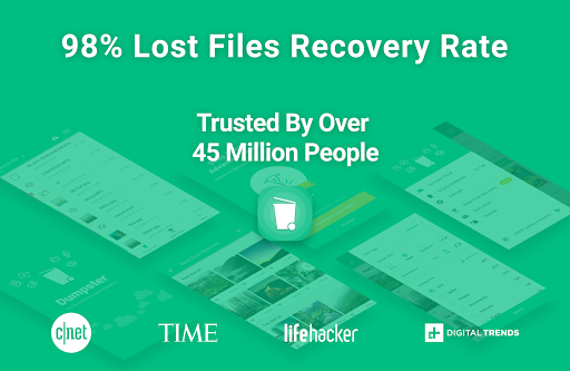 Dumpster - Recover Deleted Photos & Video Recovery screenshot 1