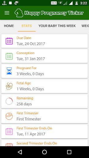 Happy Pregnancy Ticker 1 تصوير الشاشة