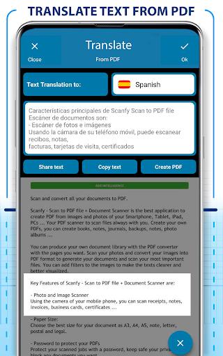 PDF Scanner - Scan documents, photos, ID, passport screenshot 5