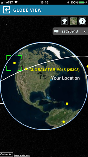 Satellite AR screenshot 5