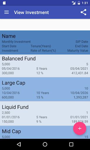 SIP Calculator screenshot 6