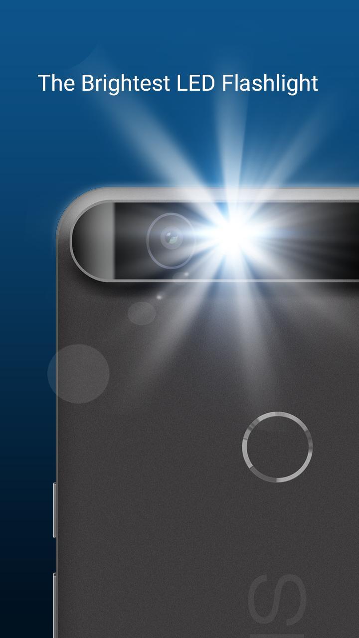 HD Flashlight - Bright & Free screenshot 1