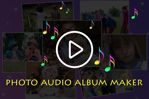Photo Audio Video Album Creator 12 تصوير الشاشة