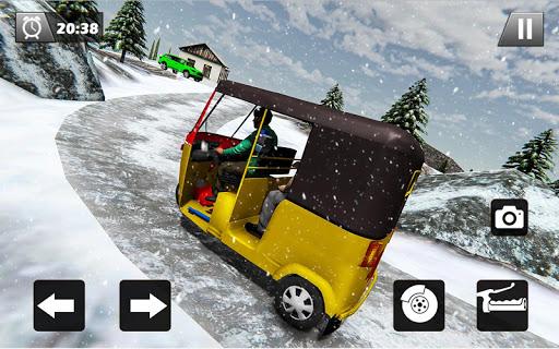 Tuk Tuk Driver Offroad Drive: Transport Passenger screenshot 12