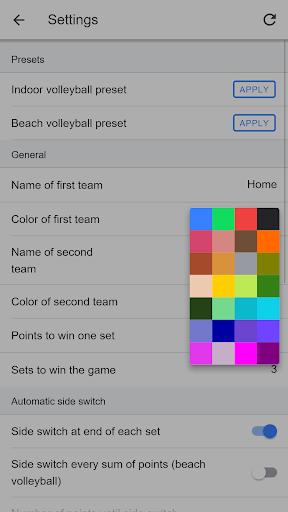 Volleyball Score Simple screenshot 5
