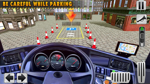 Modern Bus Simulator New Parking Games – Bus Games screenshot 8
