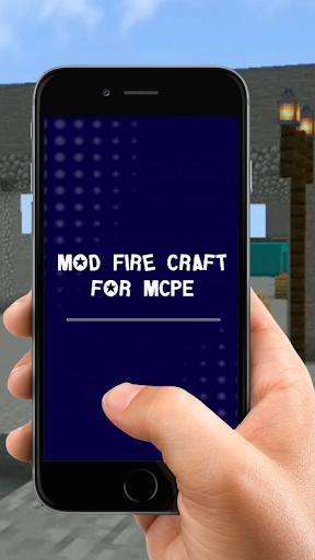 Mod Fire Craft for MCPE screenshot 2