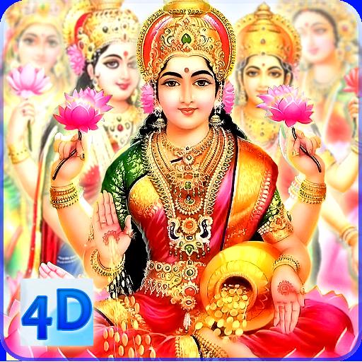 4D Lakshmi Live Wallpaper أيقونة