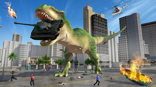 Hungry Dinosaur Hunting Simulator Game 2020 screenshot 1