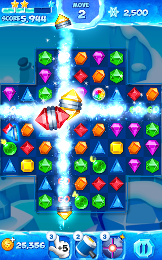Jewel Pop Mania:Match 3 Puzzle 4 تصوير الشاشة