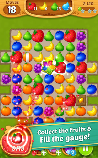 Fruits Mania : Fairy rescue 4 تصوير الشاشة