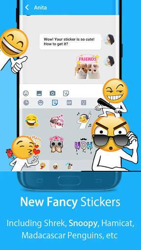 Hi Keyboard - Emoji Sticker, GIF, Animated Theme screenshot 3
