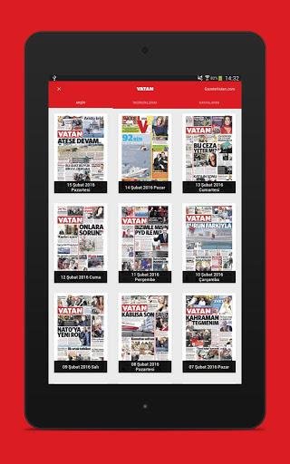 Vatan Gazete 6 تصوير الشاشة