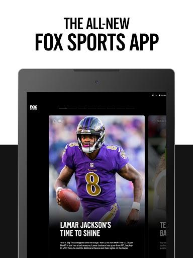 FOX Sports: Latest Stories, Scores & Events 7 تصوير الشاشة