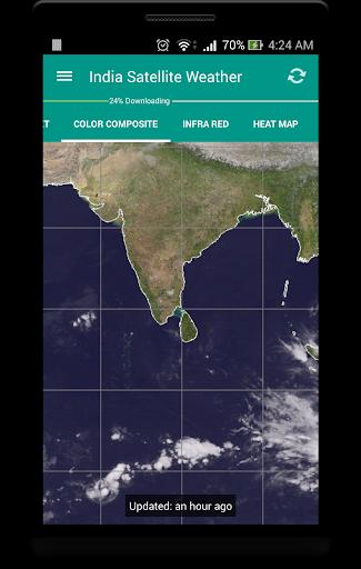 India Satellite Weather 6 تصوير الشاشة