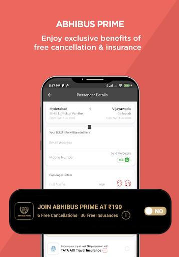 AbhiBus - Bus Booking and IRCTC Train Ticket App 6 تصوير الشاشة