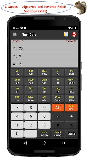 TechCalc Scientific Calculator 2 تصوير الشاشة