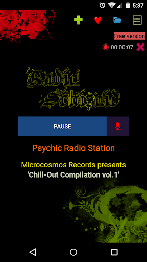 Schizoid Radio Online Free 4 تصوير الشاشة