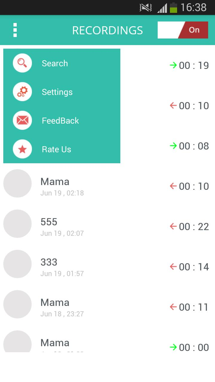Automatic Hidden Call Recorder screenshot 3