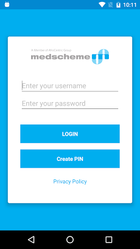 Medscheme Touch 1 تصوير الشاشة