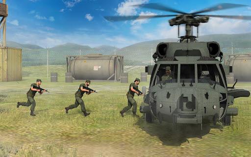 الجيش هليكوبتر الناقل الطيار محاكي 3D 1 تصوير الشاشة