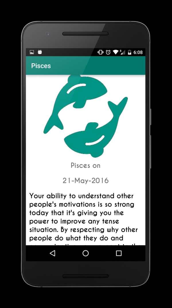 My Daily Horoscope 6 تصوير الشاشة
