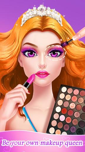 ⭐👧Superstar Makeup Salon - Girl Dress Up 1 تصوير الشاشة