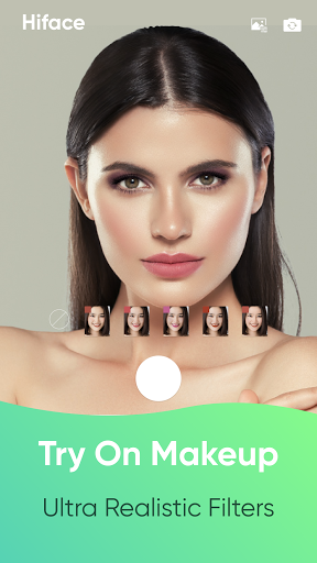 HiFace - Face Shape Detector, Makeup try on, Style screenshot 2