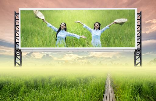 Natural Hoarding Photo Frames - green beauty style 4 تصوير الشاشة