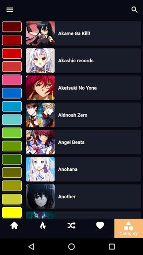 Anime Wallpaper 5 تصوير الشاشة