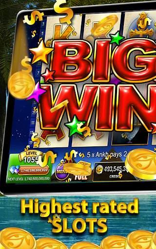 Slots Pharaoh's Way Casino Games & Slot Machine screenshot 2
