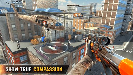 नया निशानची बंदूक खेल 2020 - शूटिंग खेल स्क्रीनशॉट 7