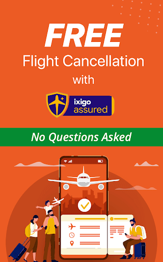 Cheap Flights, Hotel & Bus Booking App - ixigo скриншот 1