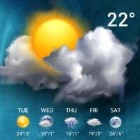 Live Weather Forecast Widget on 9Apps