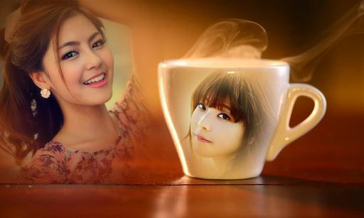 Coffee Mug Multi Photo Frame 2 تصوير الشاشة