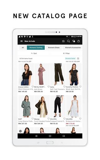 ZALORA - Fashion Shopping 11 تصوير الشاشة