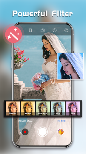HD Camera - Beauty Cam with Filters & Panorama screenshot 5