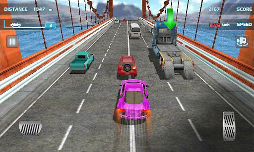 Turbo Driving Racing 3D screenshot 2