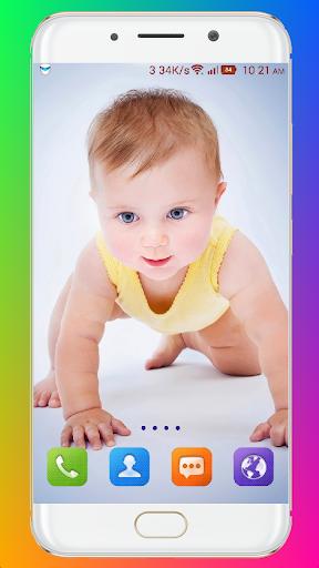 Cute Baby Wallpaper screenshot 7