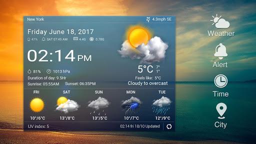 Z Style Weather Widget 10 تصوير الشاشة