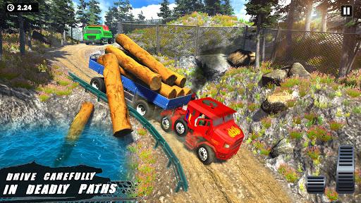 Offroad Indian Truck Driver:3D Truck Driving Games screenshot 1