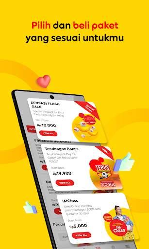 myIM3 - Bonus Kuota 100GB screenshot 6