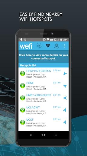 Find Wi-Fi - Automatically Connect to Free Wi-Fi 3 تصوير الشاشة